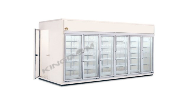 Walk-In Display Coolers and Freezers