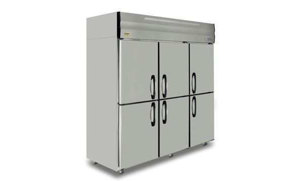 6-Door Upright Refrigerator